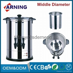 2015 Hot 20L Electric Tea Coffee Urn Commercial Tea Maker Double Dispensers