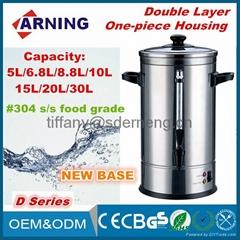 7.4L,8.8L,10L,15L,18L Commercial Equipment Electric Hot Water Urn Tea Coffee Urn