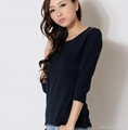 women pullover sweater factory in dongguan 2