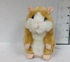 Repeating and talking Plush Toys cute hamster toys function plush toys animal