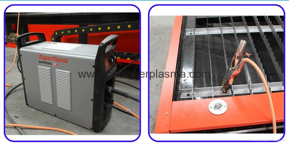 CNC Plasma Cutting Drilling Machine for 25-30mm Steel Stainless Steel  7