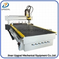 Changing 4 Pcs Tools Linear ATC CNC Router with SYNTEC System