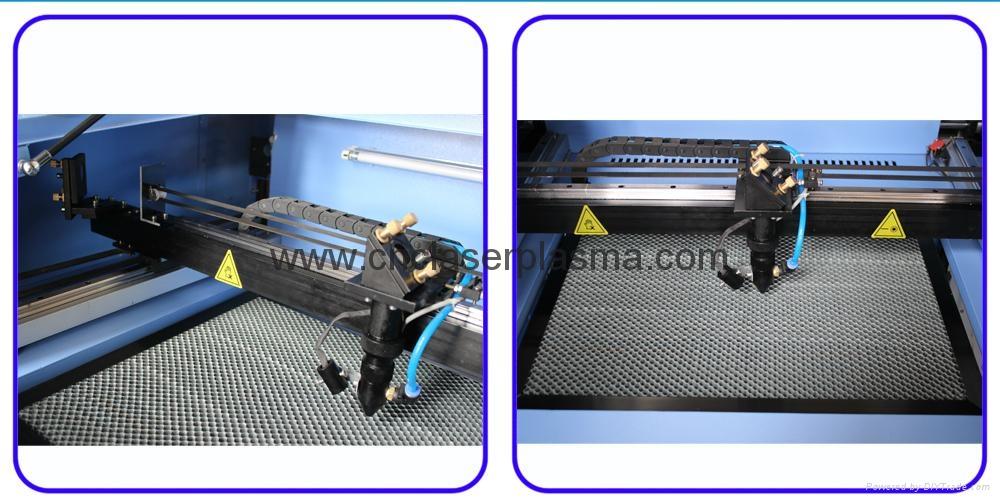 Desktop 60W 500*400mm Co2 Laser Engraving Cutting Machine 8
