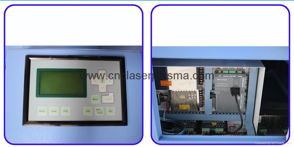 Desktop 60W 500*400mm Co2 Laser Engraving Cutting Machine 9