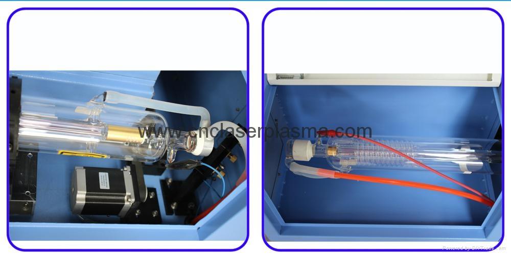 Desktop 60W 500*400mm Co2 Laser Engraving Cutting Machine 10