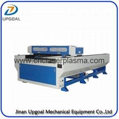 Double Ball Screw Transmission Metal & Non Metal Co2 Laser Cutting Machine