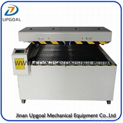 Single Ball Screw Arm Structure Co2 Metal and Non-Metal Laser Cutting Machine