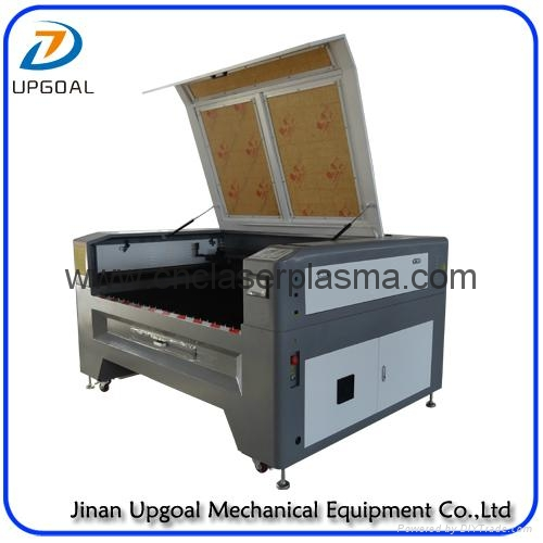 1390  Co2 Metal& Non Metal Laser Cutting Machin with Auto Follow Up Function 2