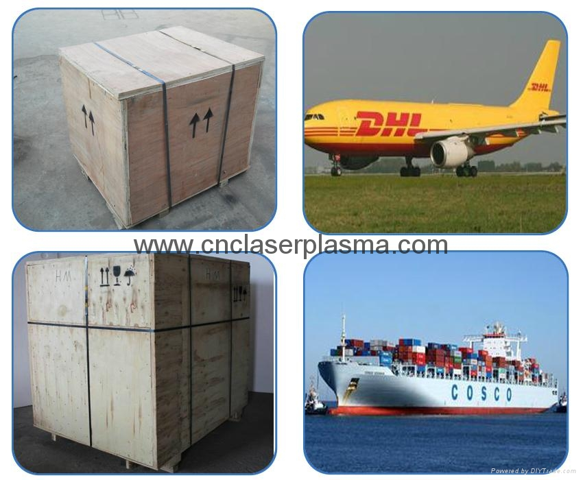 Delivery: air express door to door or ocean shipping