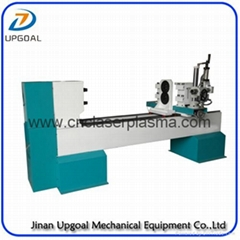 Turning Broaching Engraving Wood Lathe Machine with Double Axis Double Blade