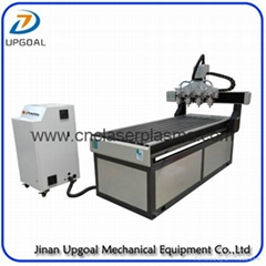 4 Spindles 700*1800mm CNC Engraving Cutting Machine with DSP Control