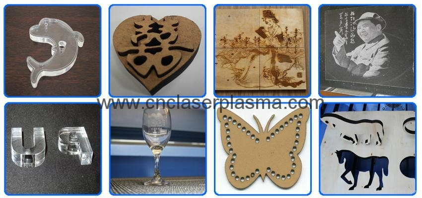 For all kinds of non-metal materials engraving and cutting