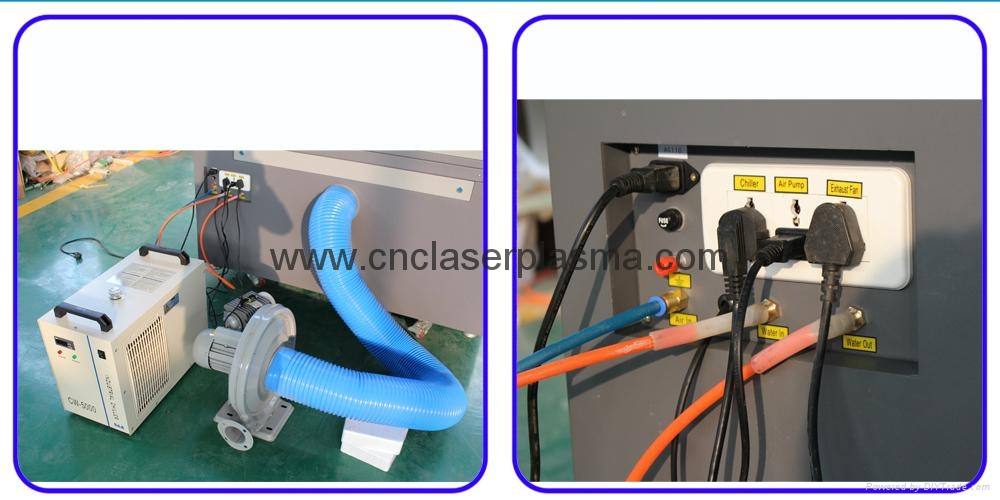 Air blower blow off &industrial chiller cooling