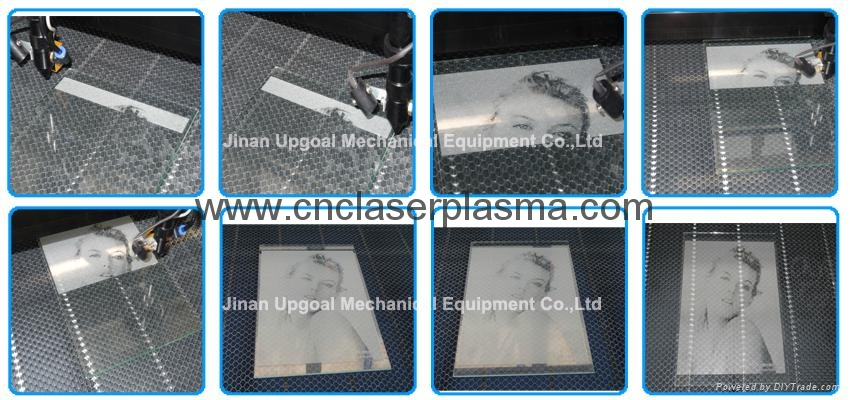 Glass Photo Co2 Laser Engraving Machine with RuIDa 6442 Control System  14