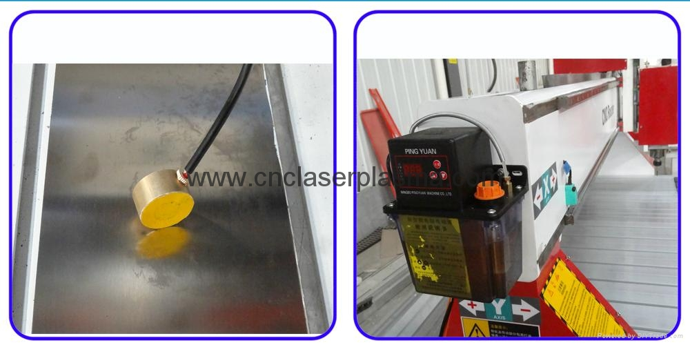Auto tool calibration & auto lubrication