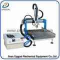 Desktop Aluminum CNC Engraving Milling Machine With Gantry Moving Type