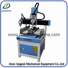 Small 600*600mm CNC Engraving Machine for Metal Copper Letter Number Engraving