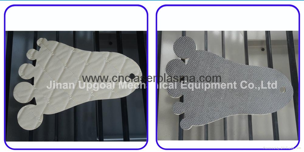 For car foot mat cutting