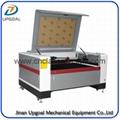 Dark Brown Acrylic Co2 Laser Cutting Machine UG-1390L 1300*900mm