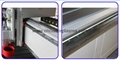 Linear square guide rail, Hiwin, Taiwan for XYZ-axis