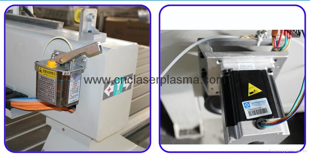 Semi-auto lubrication  & stepper motor