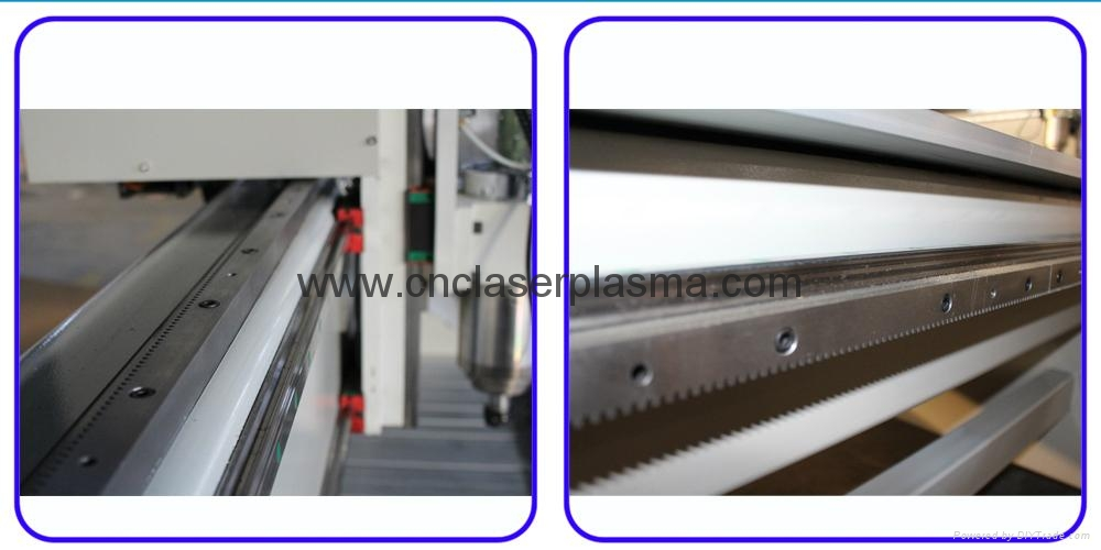 Hiwin, linear square guide rail, and helical rack & pinion transmission