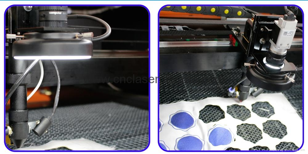 CCD camera laser head