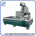 Economic Auto Tool Changer Wood CNC Router with 3 Pcs Tools Changing