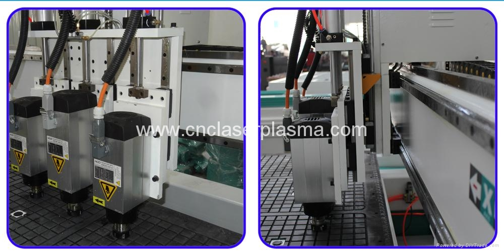 China 5.5kw & 3.5kw air cooling spindle