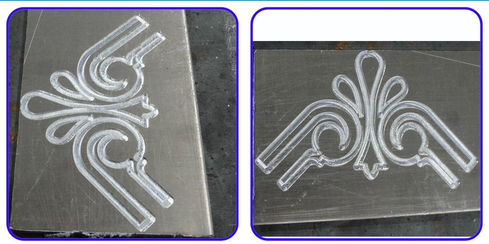 High Precision CNC Aluminum Engraving Machine with Hybrid Servo Motor/DSP Contro 8