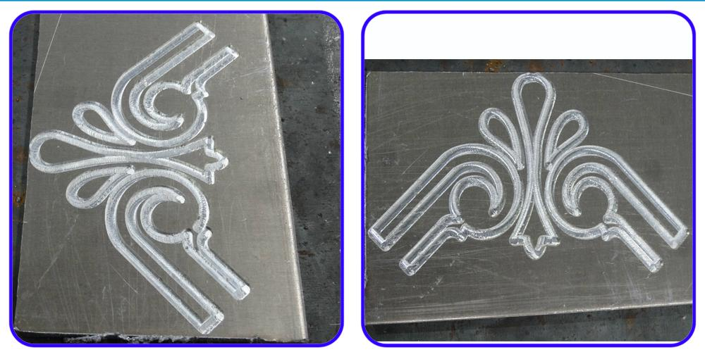 For aluminum line engraving