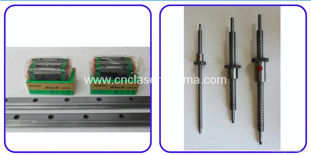 Hiwin Taiwan Linear square guide rail & Lead ball Screw Transmission