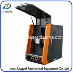 Protected Type 20W Mini Metal Materials Fiber Laser Marking Machine