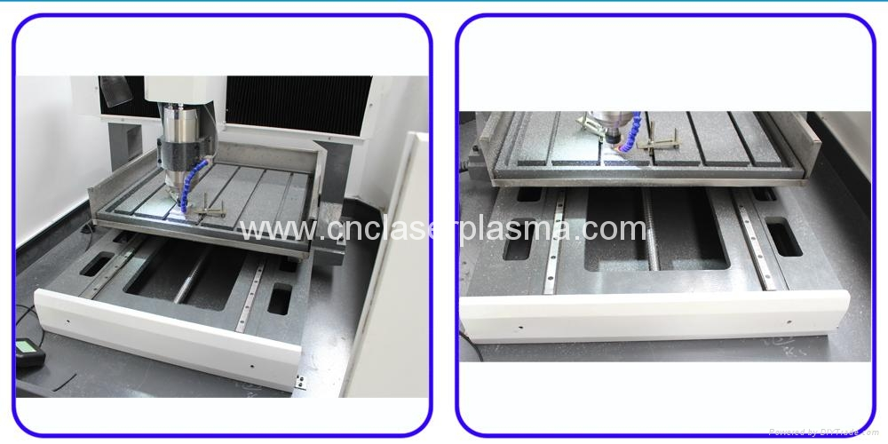 Platform iron T slot working table