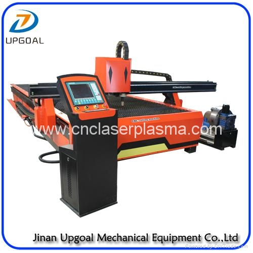 Cutting & drilling head, cutting torch with anti-collision, drilling head with press device