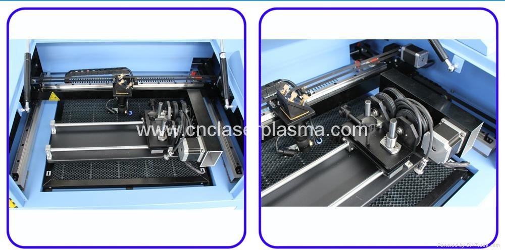 Rubber Stamp Co2 Laser Engraving Cutting Machine  12