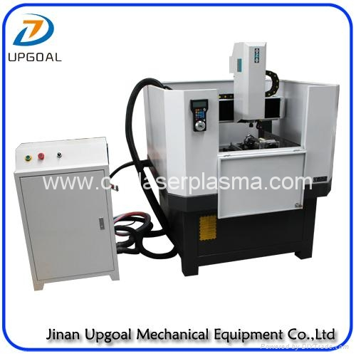 High duty axis cnc metal relief carving machine with