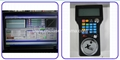 Mach3 4 axis offline control system with wireless handwheel