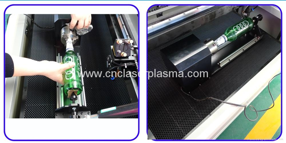 Beer Glass Co2 Laser Engraving Machine with Rotary Axis 14