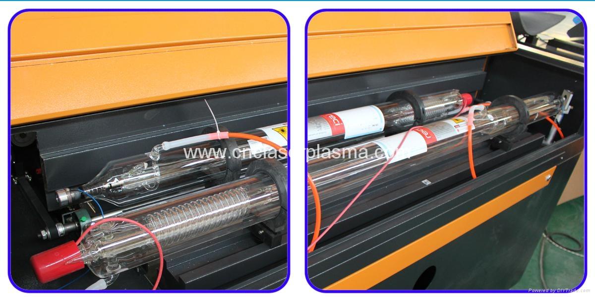 Double laser tube, A1; Reci W6, 130W , A2: Reci W2: 90W