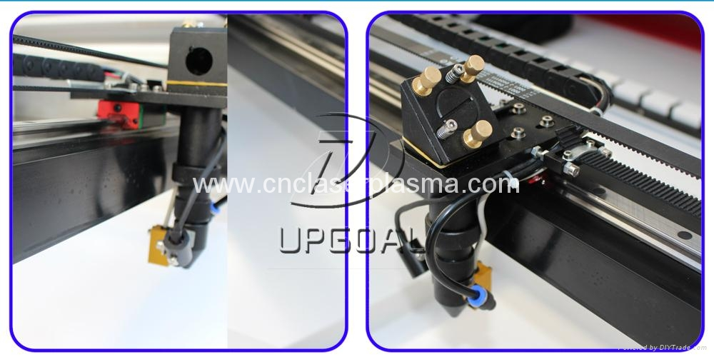Laser head with infrared positioning & auto focus switch