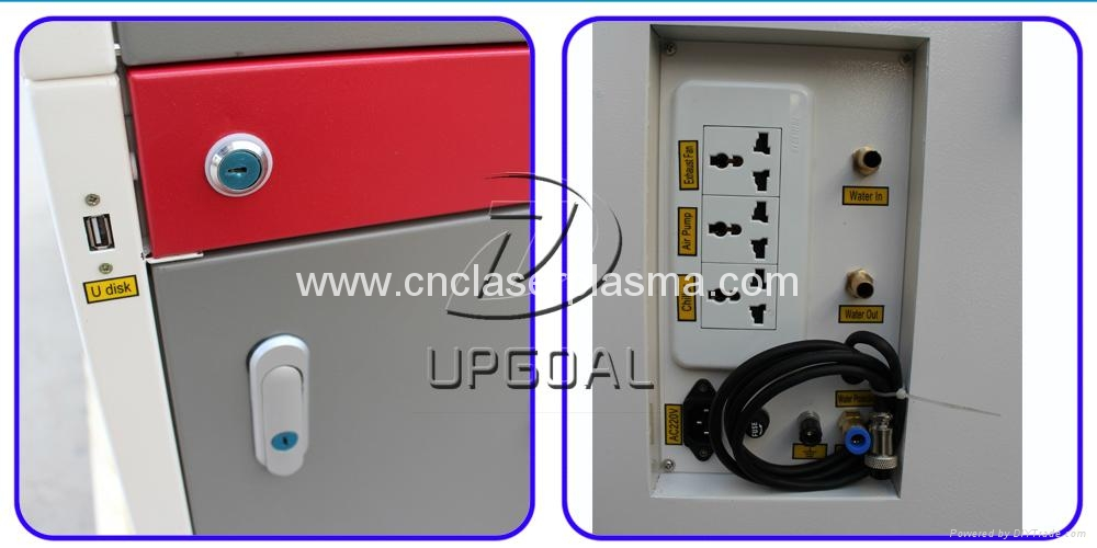 Switches & power socket