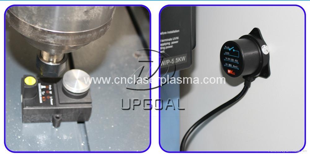 Head lamp and limit sensor