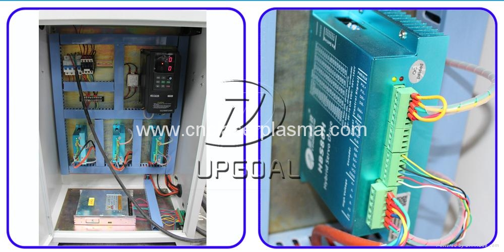 Metal Mold CNC Router For Dies 3D Engraving with 600*600mm 15