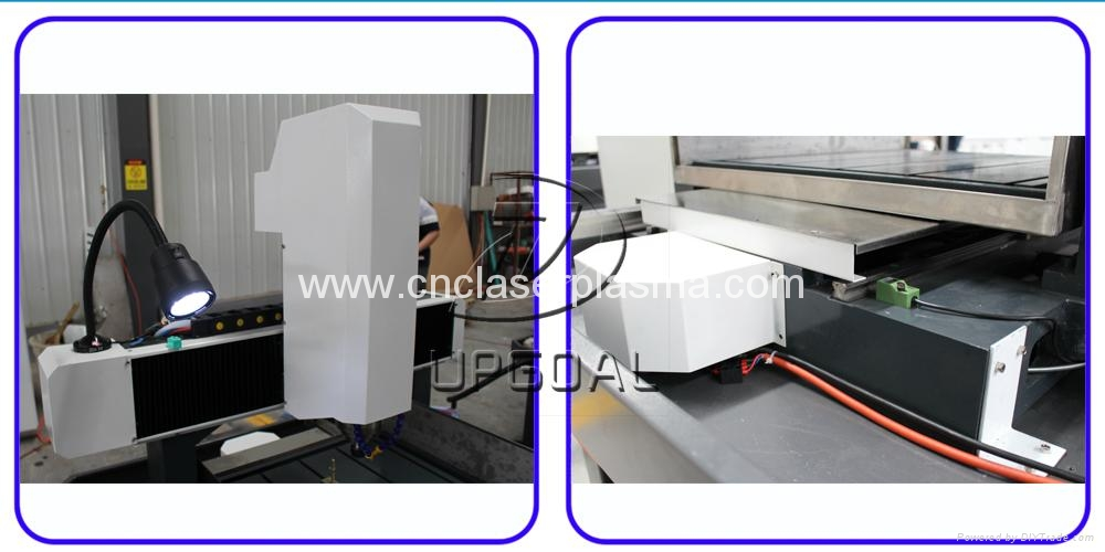 Metal Mold CNC Router For Dies 3D Engraving with 600*600mm 17
