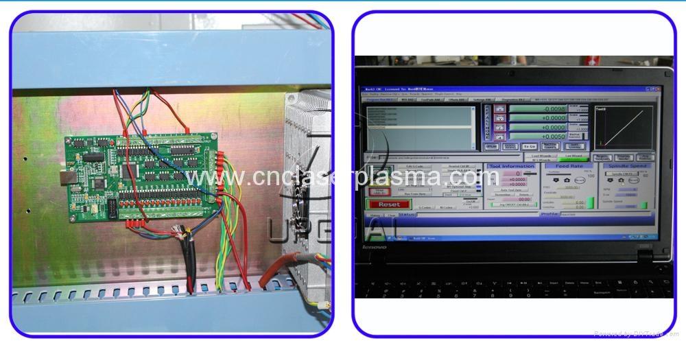 Mach3 4 axis offline control system