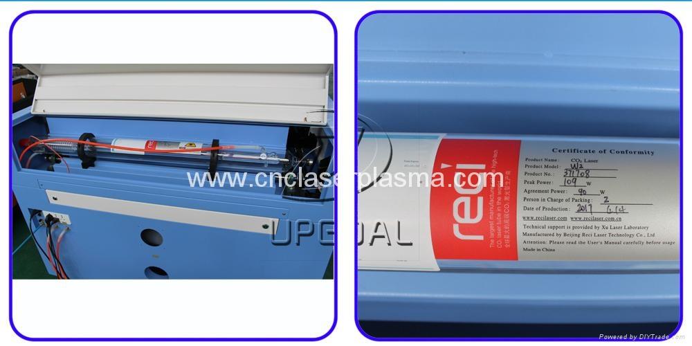 Reci W2 co2 laser tube,rated power 90W, maximum power 100W