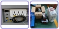 Power Socket, Industrial chiller CW-5000 and accessories