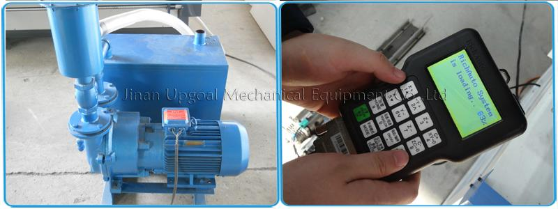 5.5kw water vacuum pump and DSP offline control system