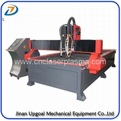 40mm Thickness Carbon Steel Plasma Flame CNC Cutting Machine Table Type